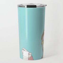 Posty Malone Drinking Milk Travel Mug