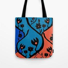 non-repeat florals Tote Bag