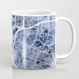 Houston Texas City Street Map Coffee Mug