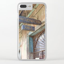 New Orleans Jazz Club Clear iPhone Case