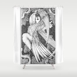 Harpy 6 Shower Curtain