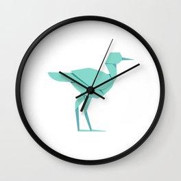 Origami Stork Wall Clock