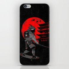 Skater Samurai iPhone & iPod Skin