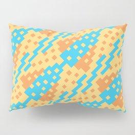 Chocktaw Geometric Square Cutout Pattern - New Mexico Pillow Sham