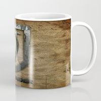 tomb raider Mugs featuring Tomb Raider by Liquidsugar