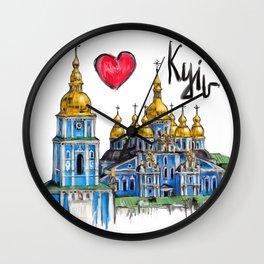 I love Kyiv  Wall Clock