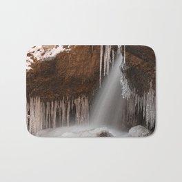 Stream of Frozen Hope Bath Mat