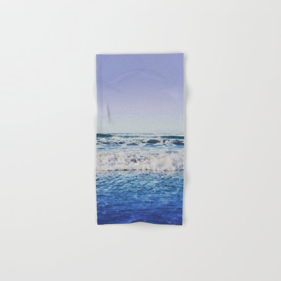 Indigo Waves Hand & Bath Towel