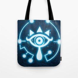 The blue eye Tote Bag