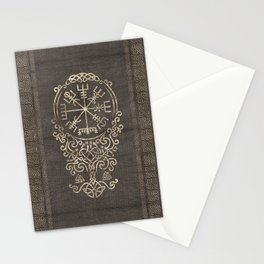 Vegvisir and Tree of life  - Yggdrasil Stationery Cards