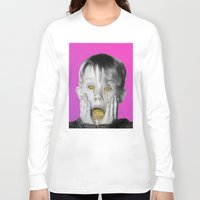 kevin russ Long Sleeve T-shirts featuring Kevin by Douglas Hale