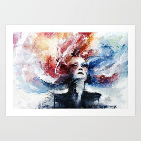 Antimonocromatismo II Art Print
