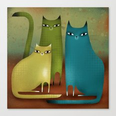 CAT STILL LIFE Canvas Print