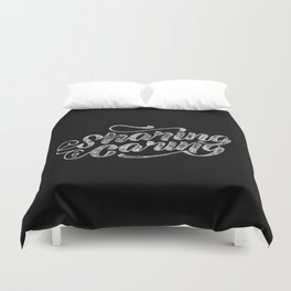 Sharing is Caring Duvet Cover