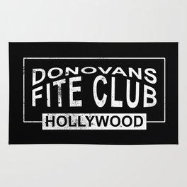 Donovans Fite Club Rug