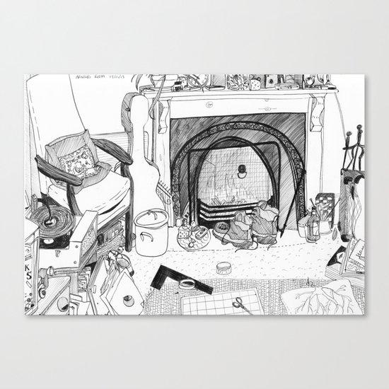 William's room. Canvas Print