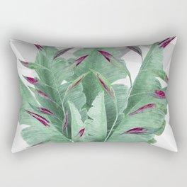 Tropical leaves. Rectangular Pillow