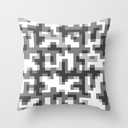 pixel 003 01 Throw Pillow