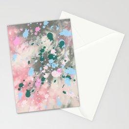 Tie Dye Splatter Stationery Cards