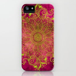 Pink lemon iPhone Case
