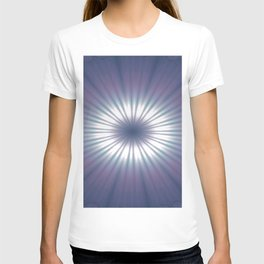 Sun Pole Starburst Mandala 3 T-shirt