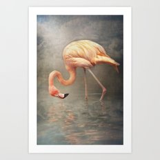 Walking in a dream.. Art Print