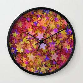 So Many Stars Wall Clock
