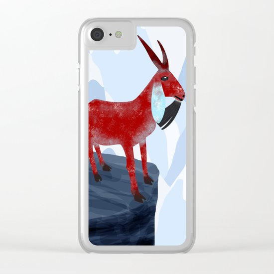 Here I Stand Clear iPhone Case