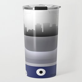 Norfolk - ORF - Airport Code and Skyline Travel Mug