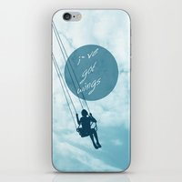 wings iPhone & iPod Skins featuring Wings by AA Morgenstern