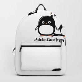 Adelie Chinstrap Emperor Gentoo Penguins Backpack