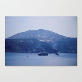 Santorini, Greece 8 Canvas Print