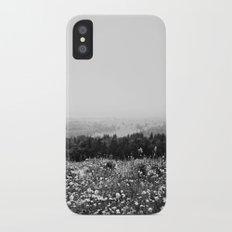 Mountain Wildflowers iPhone X Slim Case