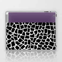 British Mosaic Purple Boarder Laptop & iPad Skin