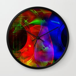 Alien Strings Wall Clock