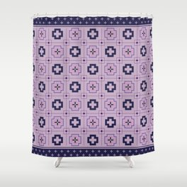 The Directions (Purple) Shower Curtain