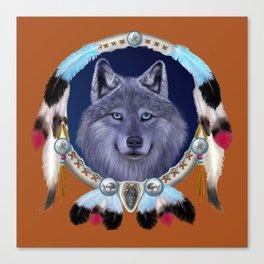 DREAM WOLF Canvas Print