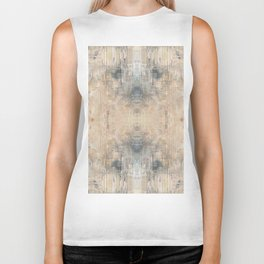Glitch Vintage Rug Abstract Biker Tank