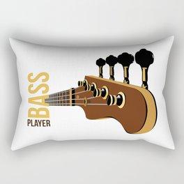 Bassguitar Rectangular Pillow
