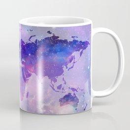world map galaxy Coffee Mug