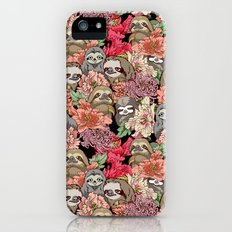 Because Sloths iPhone (5, 5s) Slim Case