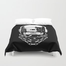 Hey, Robocop! Duvet Cover