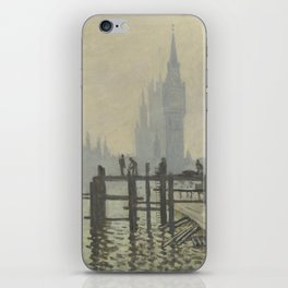 Claude Monet - The Thames Below Westminster iPhone Skin