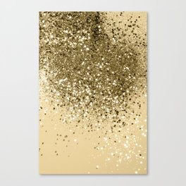 Cali Summer Vibes Lady Glitter #1 #shiny #decor #art #society6 Canvas Print