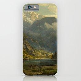 California Pines by Albert Bierstadt iPhone Case