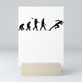 Runner sport jogging Mini Art Print