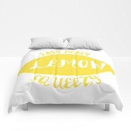 easy peasy lemon squeezy Comforters