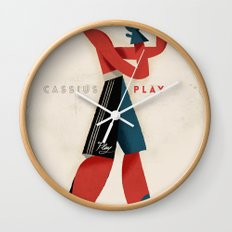 Cassius Play Wall Clock