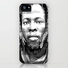 Rasta Man 3 iPhone Case