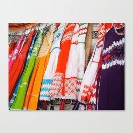 MEXICO CLOTHESLINE Canvas Print